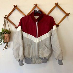 Men's Vintage zip up jacket wit Coors Light logo